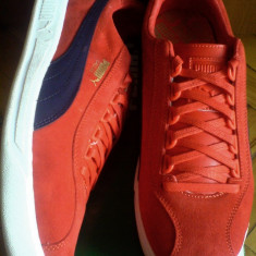 Adidasi Puma Dallas Suede 39, 41EU -piele naturala- produs original- IN STOC - Adidasi barbati Puma, Culoare: Rosu