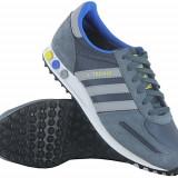 Adidasi Adidas LA Trainer Grau/Weiß - (Q21245) nr. 46 - Adidasi barbati, Culoare: Din imagine, Textil