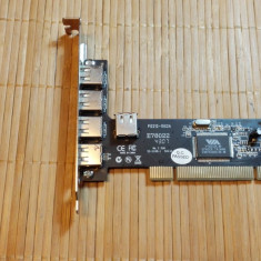 Placa Usb 5 porturi PCI (10398)