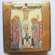 Icoana Foita Aur - Rastignirea Domnului Iisus Hristos - Icoana cu foita de aur
