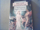 William Shakespeare - A MIDSUMMER NIGHT`S DREAM { 1994 }, Alta editura, William Shakespeare