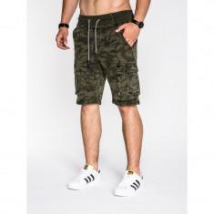 Pantaloni scurti barbati P527 camuflaj - Bermude barbati, Marime: S, M, L, XL, XXL, Culoare: Din imagine, Bumbac