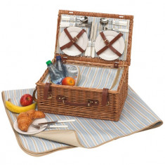 Cos picnic pentru 4 persoane Madison Park - Vesela camping Alexer