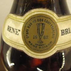 Brandy renè briand coupe dor du bon gout francais, cc.750 gr 40 italy anu 1962 - Cognac