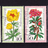 Timbre GERMANIA 1975 = FLORI ALPINE - Timbre straine, Stampilat