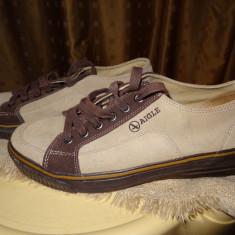 Pantofi AIGLE barbati - Pantofi barbat Aigle, Marime: 43, Culoare: Bej