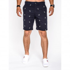 Pantaloni scurti barbati w034 bleumarin