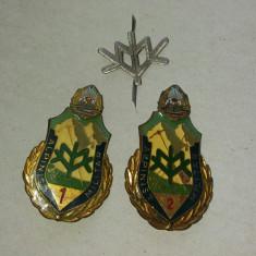 Insigna Militar Alpinist cl.1 si 2 Vanatori de Munte