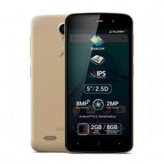 Smartphone Allview P6 Plus 8GB Dual Sim Gold - Telefon Allview