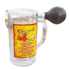 Halba de bere cu claxon