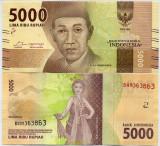 INDONEZIA- 5000 RUPIAH 2016/- NEW- UNC!!