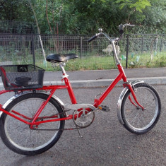 Bicicleta Pegas - Bicicleta retro, 18 inch, Numar viteze: 1