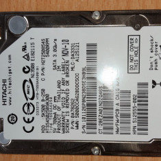 "HDD-30.HDD Laptop 2.5"" SATA 250 GB Hitachi 5400 RPM 8 MB, 500-999 GB, Western Digital"