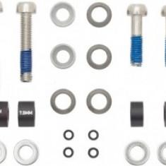 Adaptor frana 10mm IS pt disc 170 fata include suruburi Inox PB Cod:AVD-44368 - Piesa bicicleta
