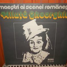 -Y- MILUTA GHEORGHIU - MAESTRII AI SCENEI ROMANESTI DISC VINIL LP - Muzica soundtrack electrecord