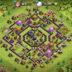 Vand cont Clash of Clans(Town Hall 9) - Jocuri PC Altele