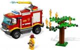 LEGO CITY - Camion pompieri (4208) + masina comandant pompieri (60001)