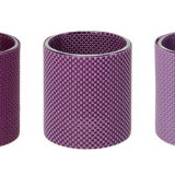 Suport lumanari violet set 3 bucati CDT-655063