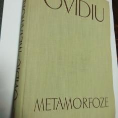 OVIDIU - METAMORFOZE - editia Academiei 1959 ( Ion Florescu, Petru Cretia ) - Carte poezie