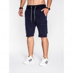 Pantaloni scurti barbati P527 bleumarin - Bermude barbati, Marime: S, M, L, XL, XXL, Culoare: Din imagine, Bumbac