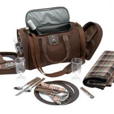 Geanta picnic pentru 4 persoane - Vesela camping Alexer