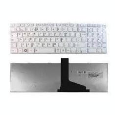 Tastatura laptop Toshiba Satellite L875D white