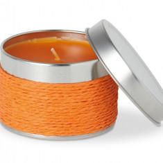 Lumanare parfumata cu aroma de portocala