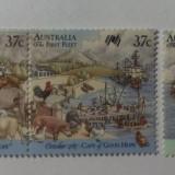 Timbre Australia 1987- Aniv. 200 Ani Colonizare, Prima Flota - Capul Bunei Sper - Timbre straine, Nestampilat