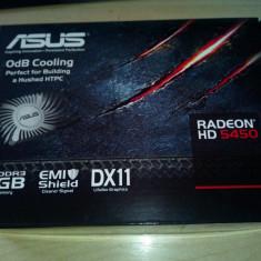 Placa Video ASUS ATI Radeon HD5450 Pc-Express, 1Gb DDR3, 64bit, Full DX11, NOU - Placa Video Ati Radeon HD 5450