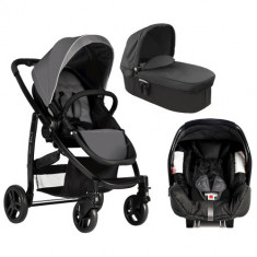 Sistem Trio Evo Charcoal - Carucior copii 2 in 1 Graco