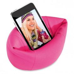 Suport telefon mobil Puffy roz