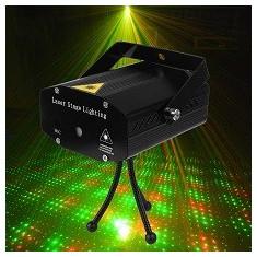 Laser Disco Proiector Lumini Senzor Muzica