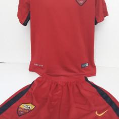 Echipamente fotbal pentru copii A.S.Roma model clasic - Set echipament fotbal, Marime: Alta