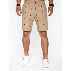 Pantaloni scurti barbati w034 - Bermude barbati, Marime: S, M, L, XL, XXL, Culoare: Din imagine, Bumbac
