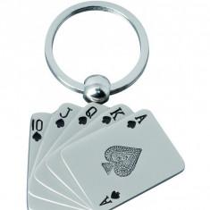 Breloc metalic Cards
