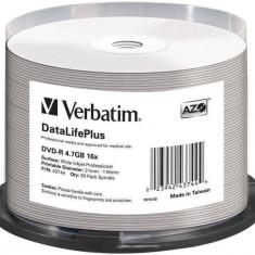 Mediu optic Verbatim DVD-R AZO 4.7GB