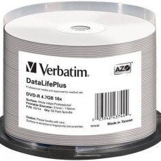 Mediu optic Verbatim DVD-R AZO 4.7GB