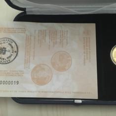 Moneda aur 24k, 7.776g, editie speciala Paste 2010, serie limitata - Moneda Romania