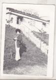 Bnk foto - Sinaia - anii `70 - Campingul Izvorul Rece, Alb-Negru, Cladiri, Romania de la 1950
