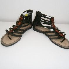 Sandale superbe dama marca Blink, marimea 39! - Sandale dama, Culoare: Maro