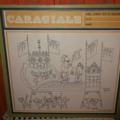 -Y-CARAGIALE -CONUL LEONIDA FATA CU REACTIUNEA CFR BUBICO DISC VINIL LP - Muzica soundtrack electrecord