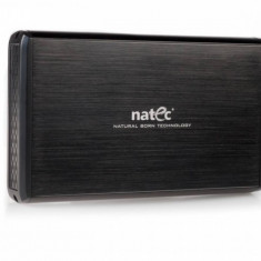 Rack HDD Natec RHINO External USB 2.0 black aluminum
