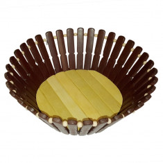 Fructiera din lemn 20 x 7 cm