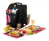 Rucsac picnic Diabolo pentru 2 persoane, Set vesela, Alexer