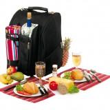 Rucsac picnic Diabolo pentru 2 persoane - Vesela camping Alexer, Set vesela