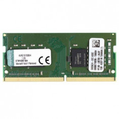 Memorie Laptop Kingston ValueRAM 4GB, DDR4, 2133MHz, CL15, 1.2V KVR21S15S8