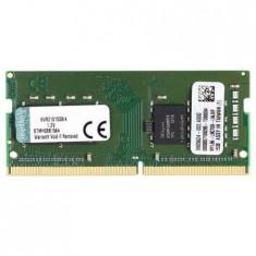Memorie Laptop Kingston ValueRAM 4GB, DDR4, 2133MHz, CL15, 1.2V KVR21S15S8 - Memorie RAM laptop Kingston, Peste 2000 mhz