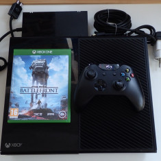 Consola Microsoft Xbox One hard 500Gb + joc Star Wars Battlefront impecabil