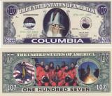 Cumpara ieftin SUA - BANCNOTA FANTASY - MISIUNEA STS - 107 COLUMBIA