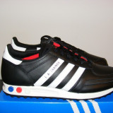 Adidasi Adidas LA TRAINER V22816 din piele nr. 46 - Adidasi barbati, Culoare: Negru, Piele naturala
